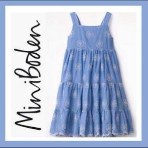 Mini Boden Twirly Tiered Dress